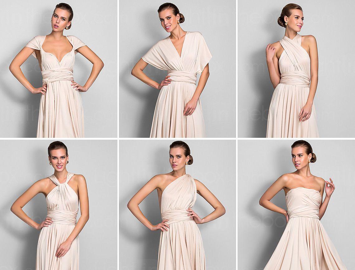 Cómo Hacer Un Vestido Convertible Mil Usos En 2019 Vestido