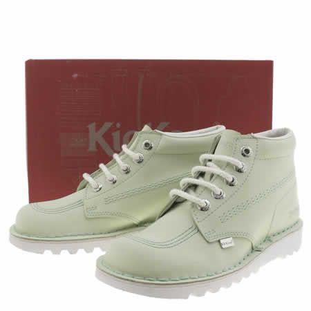 4dc2394d13b womens kickers light green kick hi boots