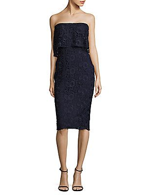 ae5c1bea0c5 LIKELY DRIGGS LACE SHEATH DRESS.  likely  cloth