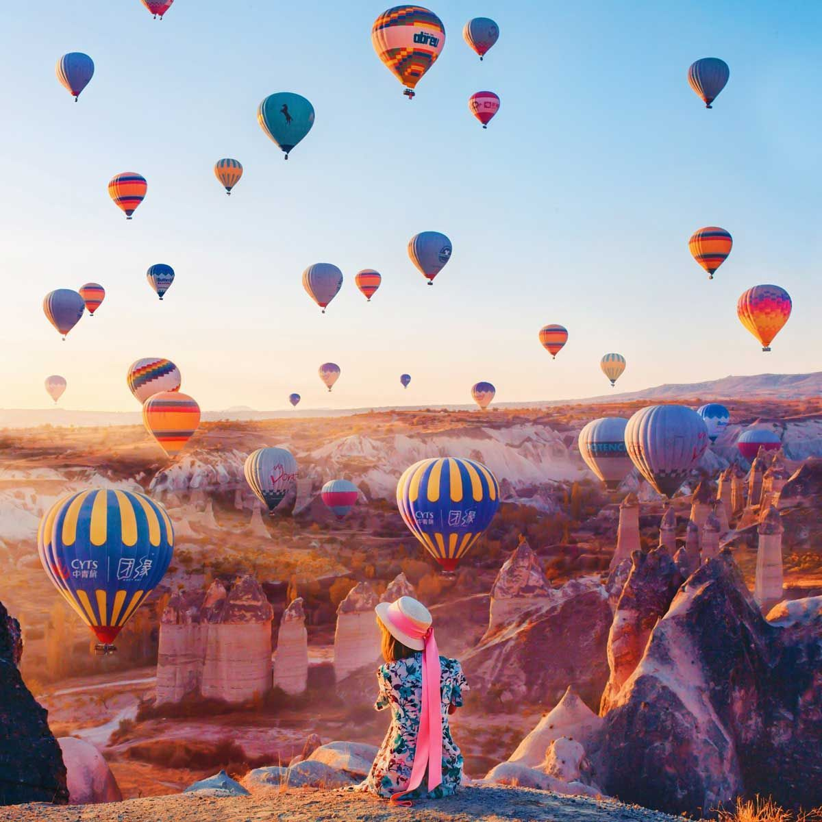 Turkey from the skies Magical images of hot air