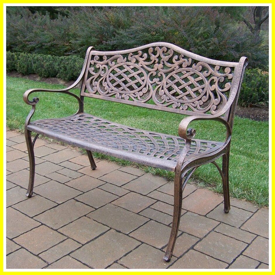 112 Reference Of Aluminum Outdoor Bench Seat In 2020 Outdoor Bench Seating Modern Patio Furniture Patio Bench