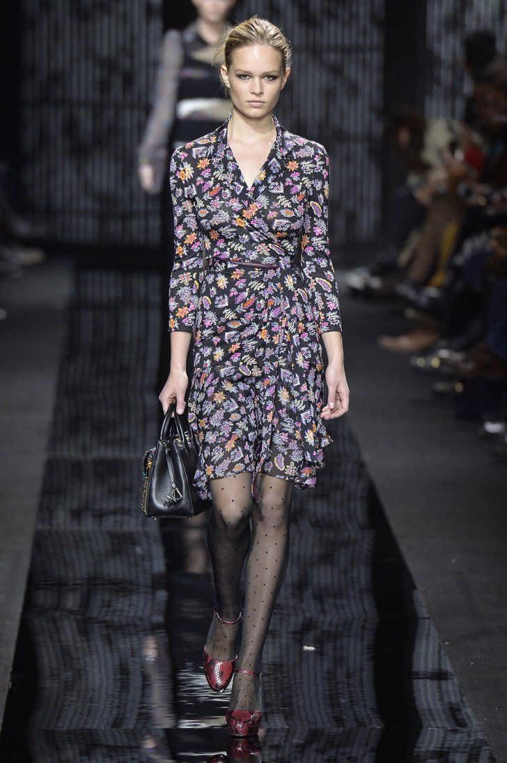 Pin for Later: Germany's Next Topmodel ganz ohne Casting-Show Diane von Furstenberg Herbst/Winter 2015