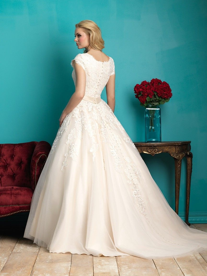 Allure Modest Wedding Dresses - Style M544 [M544] : Wedding Dresses ...
