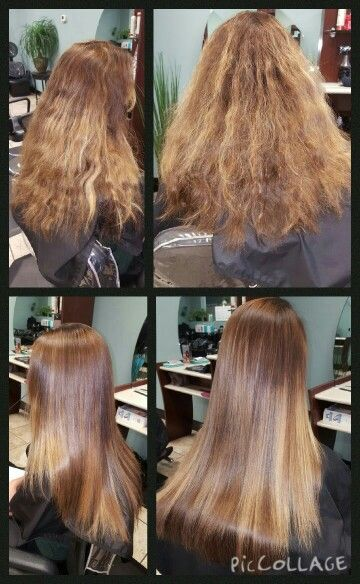 Keratin Treatment Before And After Keratin Hair Treatment Keratin Treatment Hair Styles