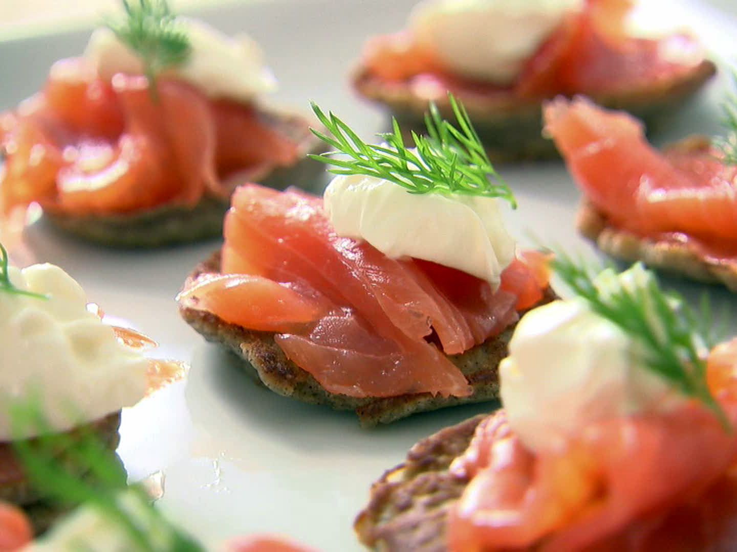 Blinis with creme fraiche and smoked salmon recipe ina garten blinis with creme fraiche and smoked salmon recipe ina garten food network foodnetwork forumfinder Gallery