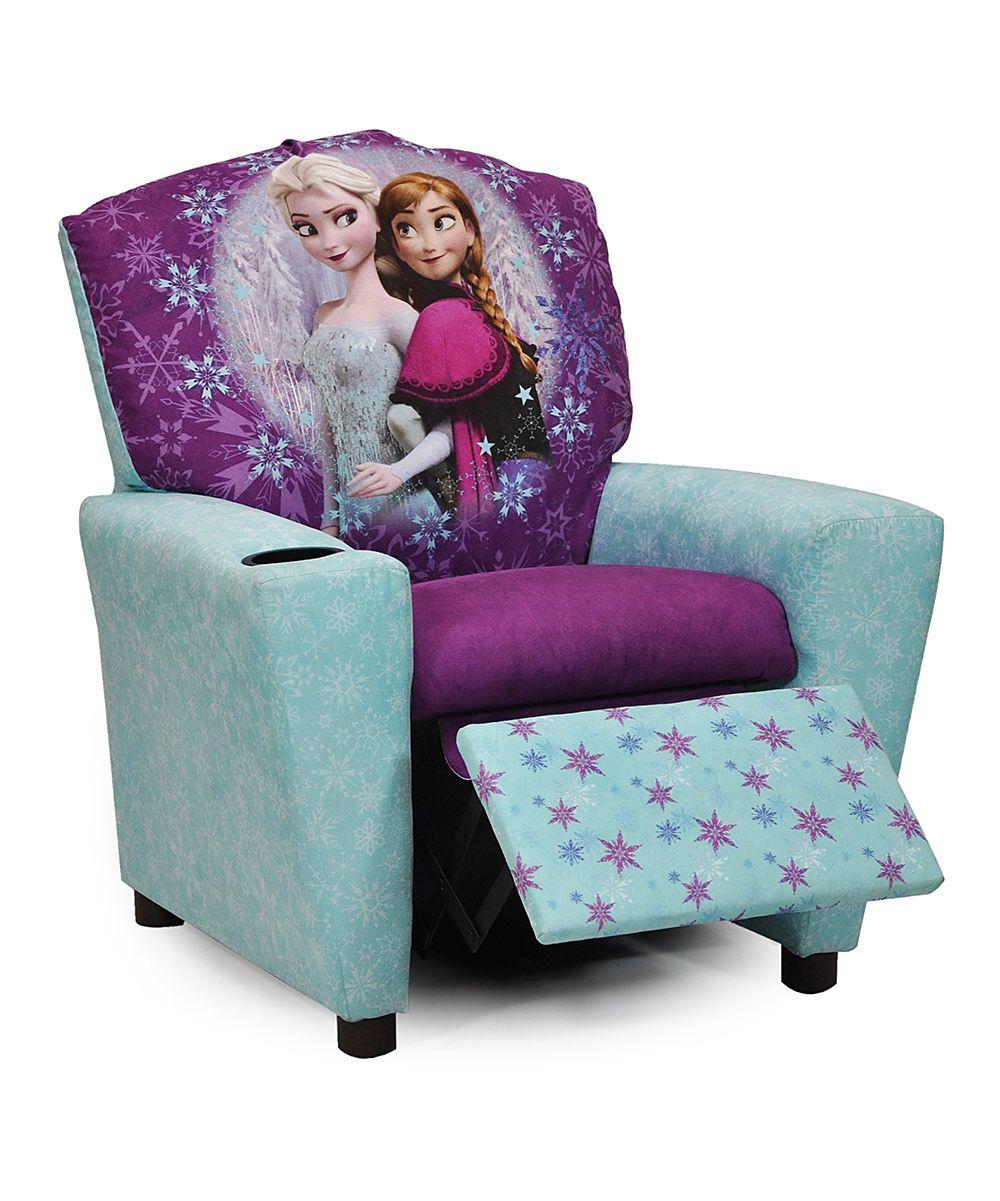Frozen Blue U0026 Purple Elsa U0026 Anna Recliner