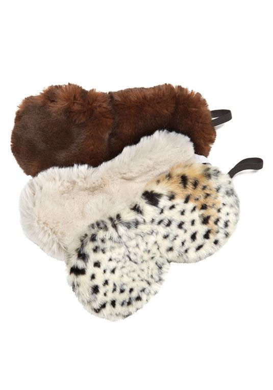 edf886e973ba Faux Fur Eye Masks Catch some Z s with our new snuggly-soft eye mask ...