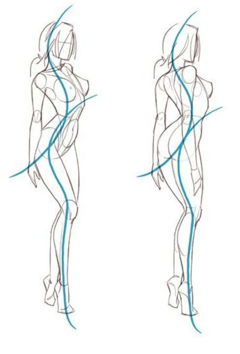 Como Dibujar Dibujos Con Figuras Arte De Anatomia Humana Referencias De Diseno De Personajes