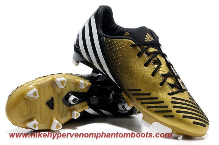 V20979 bright goldblackrunning white adidas predator