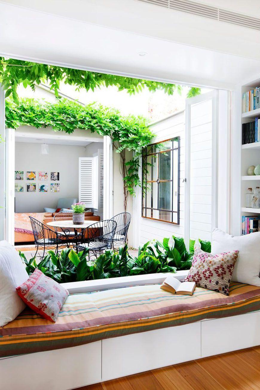 Sala De Leitura Decorao Ambiente Integrado Com Rea De Leitura E  -> Decoracao Para Sala De Aee