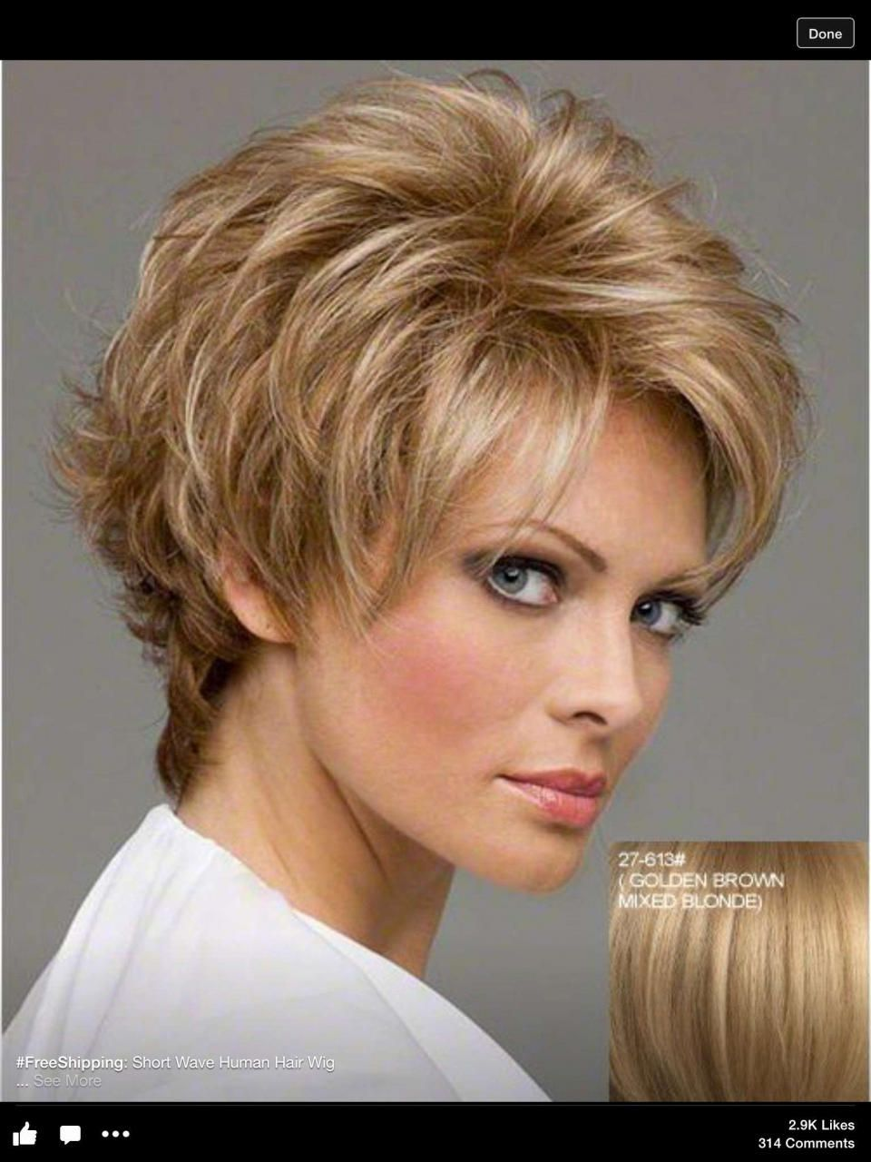 The 41 Best Short Haircuts and Hairstyles for Women Over 50 | Short thin hair, Haircuts for over ...
