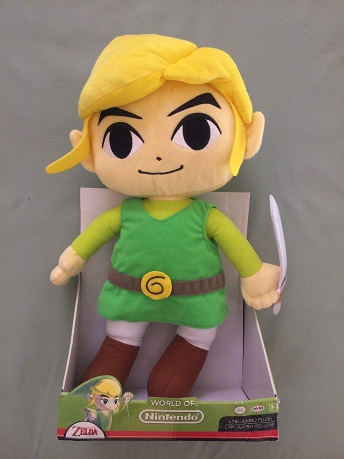 Toon Link Jakks Pacific 19 Plush In 2020 Plush Zelda Video Games Pacific