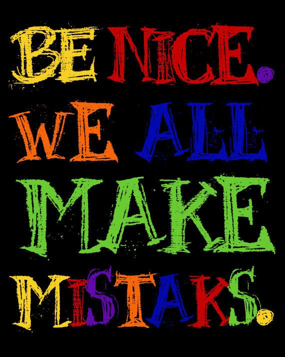 think all men make mistakes Ap english language & composition 1999 free-response questions these materials were produced by educational testing service (ets), which develops and administers the examinations of the advanced placement program for the college board.
