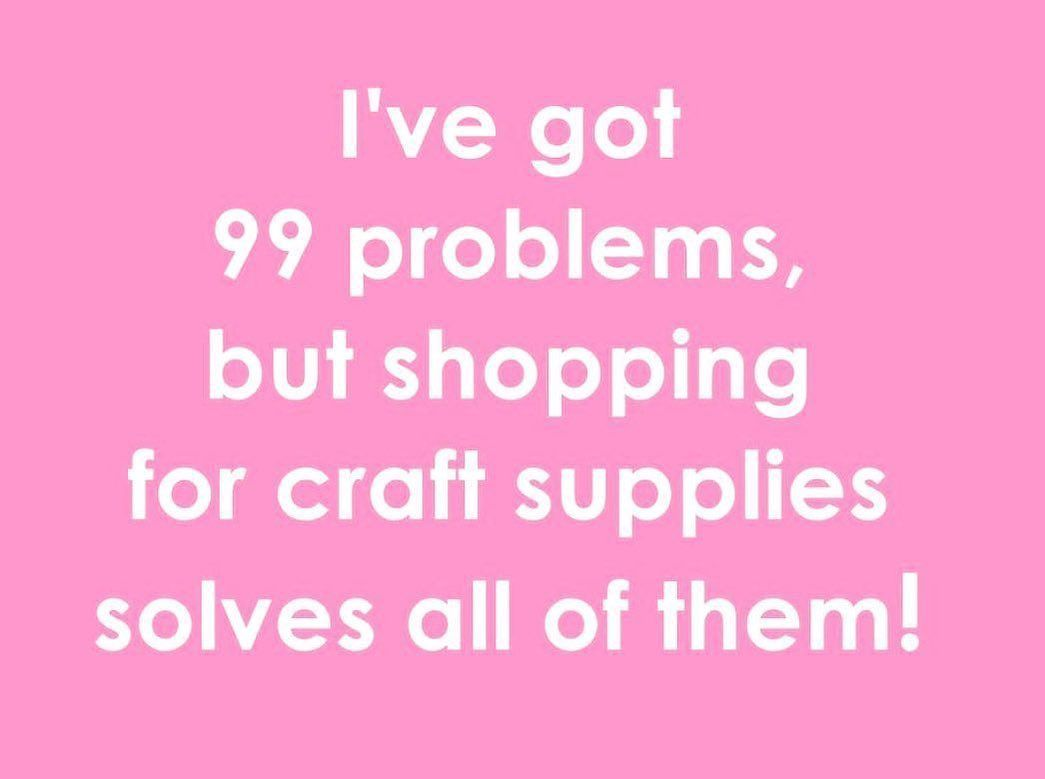 Could not have said it any better! Shopping for craft supplies is always👌Follow: @getcorks 📸: @eandelittleworkshop - #corkwork #corkart #corkrecycling #corkcraft #corkcrafts #corkartandcraft #corkcraftanddesign #corkcraftshow #corkcraft #craft #crafts #craftymom #crafting #crafty #craftersofinstagram #cork #corks #corkboard #corkcrafts #corkdecor#craftroom #craftideas  #diy #diydecor #diycreation #winecork #winecorks #winecorkdiy #welovecorks #diyhomedecor #kitchendiy