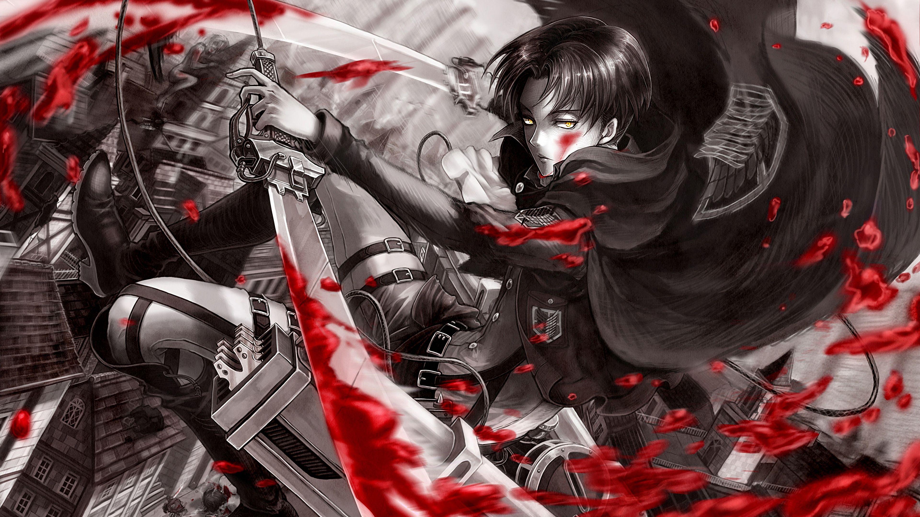 Levi Attack On Titan Shingeki No Kyojin 4k 19224 Attack On Titan Levi Attack On Titan Quiz Attack On Titan