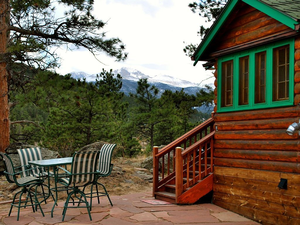 Kiefer Cabin Nestled In Ponderosa Pines Homeaway Estes