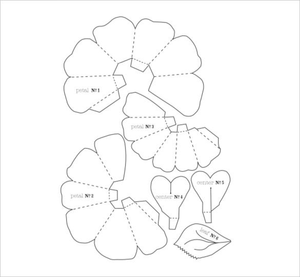 flower petal template 20 free word pdf documents download free premium