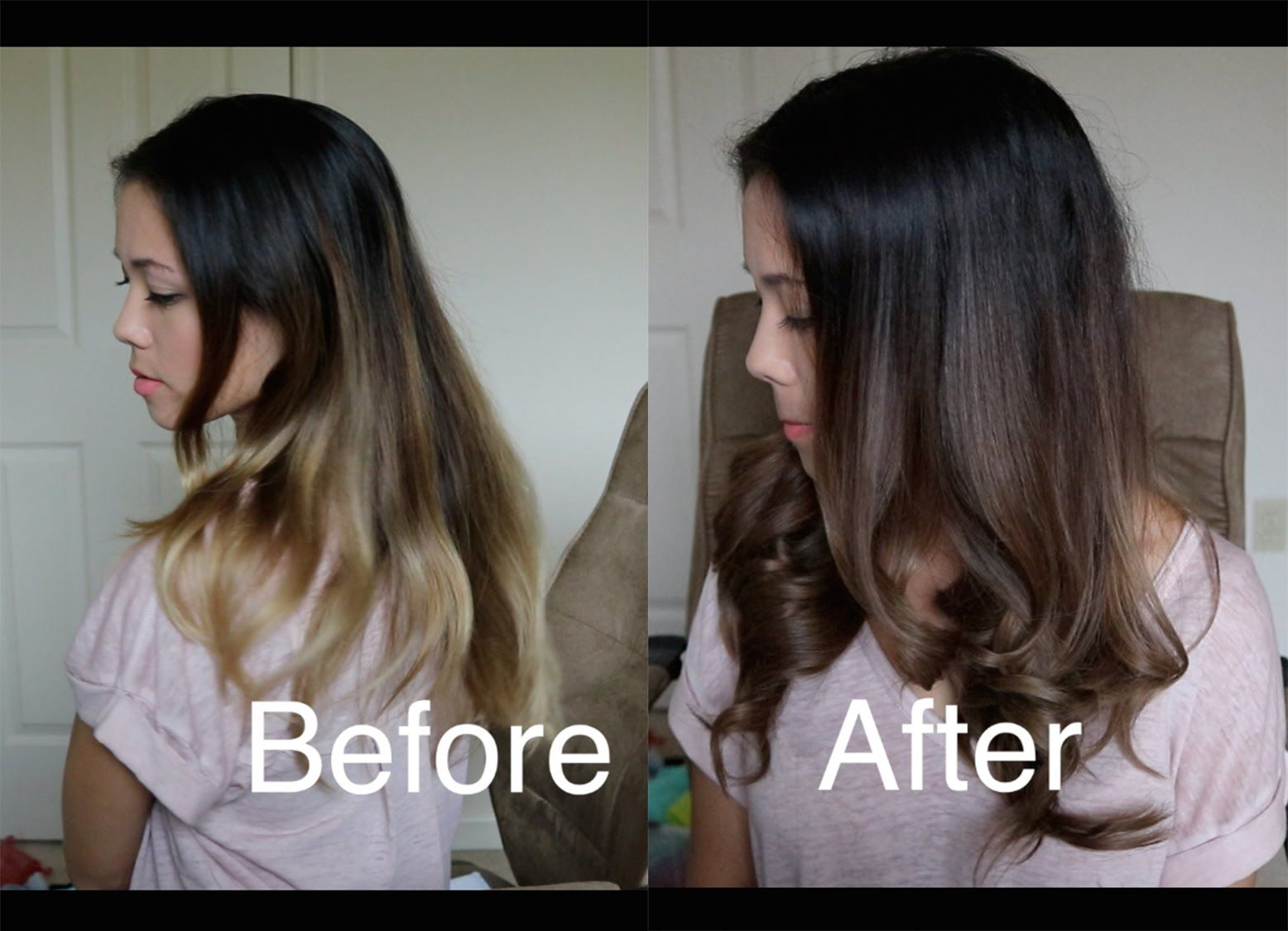 How To Darken An Ombre With Wella Demi Permanent Hair Dye Demi Hair Color Permanent Hair Dye Permanent Hair Color