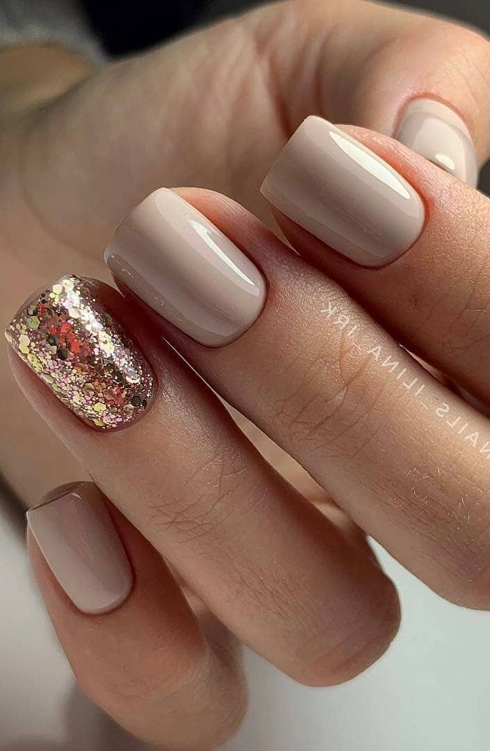 57+ Really Cute Glitter Nail Designs! You Will Love This Part 57
