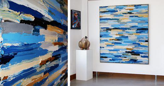 Abstracte schilderijen galerie sille kunstgalerie