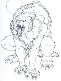 Resultat De Recherche D Images Pour Loup Garou Loup Garou Loup Dessin Garou