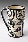 Patches Mug by Jennifer  Falter - Mug (Ceramic  Mug) #ceramicmugs