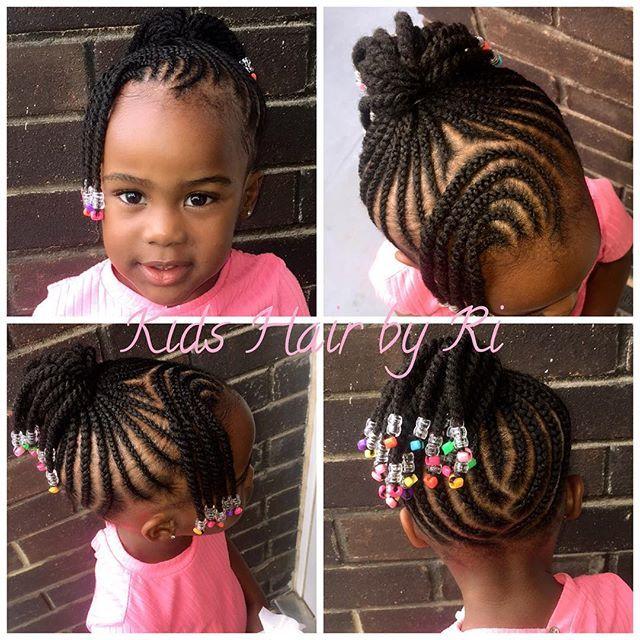 Tresse Africaines Kids Hairstyles Girls Kids Hairstyles Hair Styles