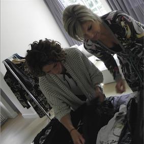 Garderobe planning door Marieke Tra!