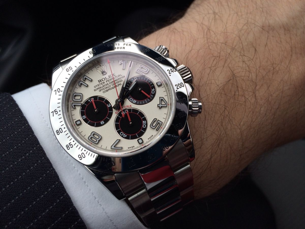 Daytona with Panda Dial , Red hands or not? , Rolex Forums