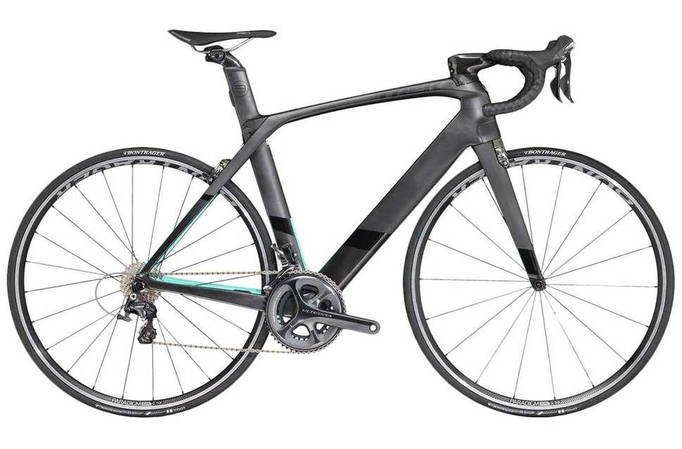 Trek Madone 9 2 C H2 2016 Road Bike Black Green 58cm Trek