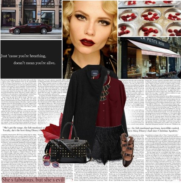 """She's fabulous, but she's evil."" by vexybabe ❤ liked on Polyvore"