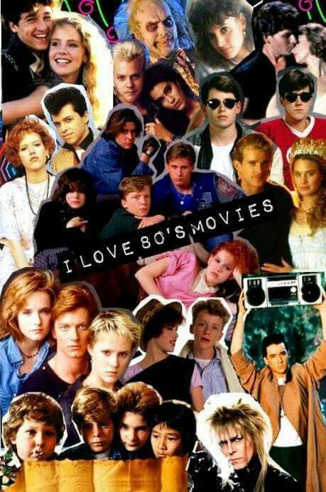 I love 80s movies collage books movies tv in 2019 - I love 80s wallpaper ...