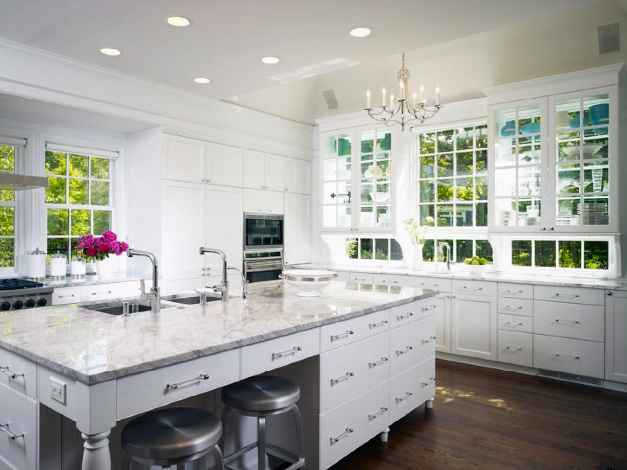 Window treatment ideas for above kitchen sink  contemporary kitchen window treatments  hgtv pictures  on my