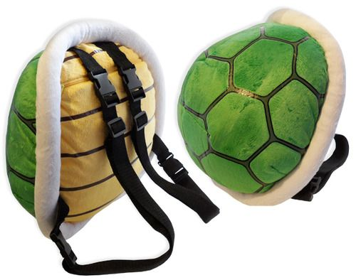 Koopa Shell Backpack A.K.A the coolest backpack ever. Available on Amazon 59df3d16154cc