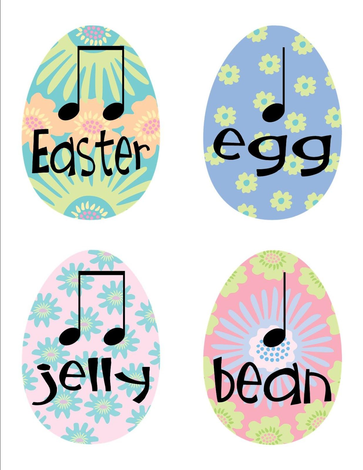 Made for Music Teachers: Easter Rhythms | Music-I've Got the MUSIC