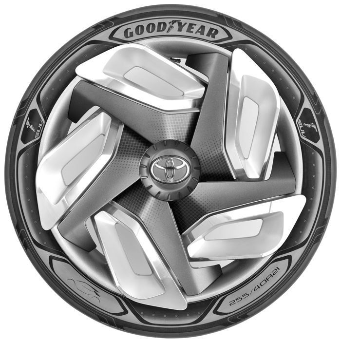 Pin By Andrew Garberolio On Bentley: Un Neumático De Goodyear Capaz De Generar Electricidad