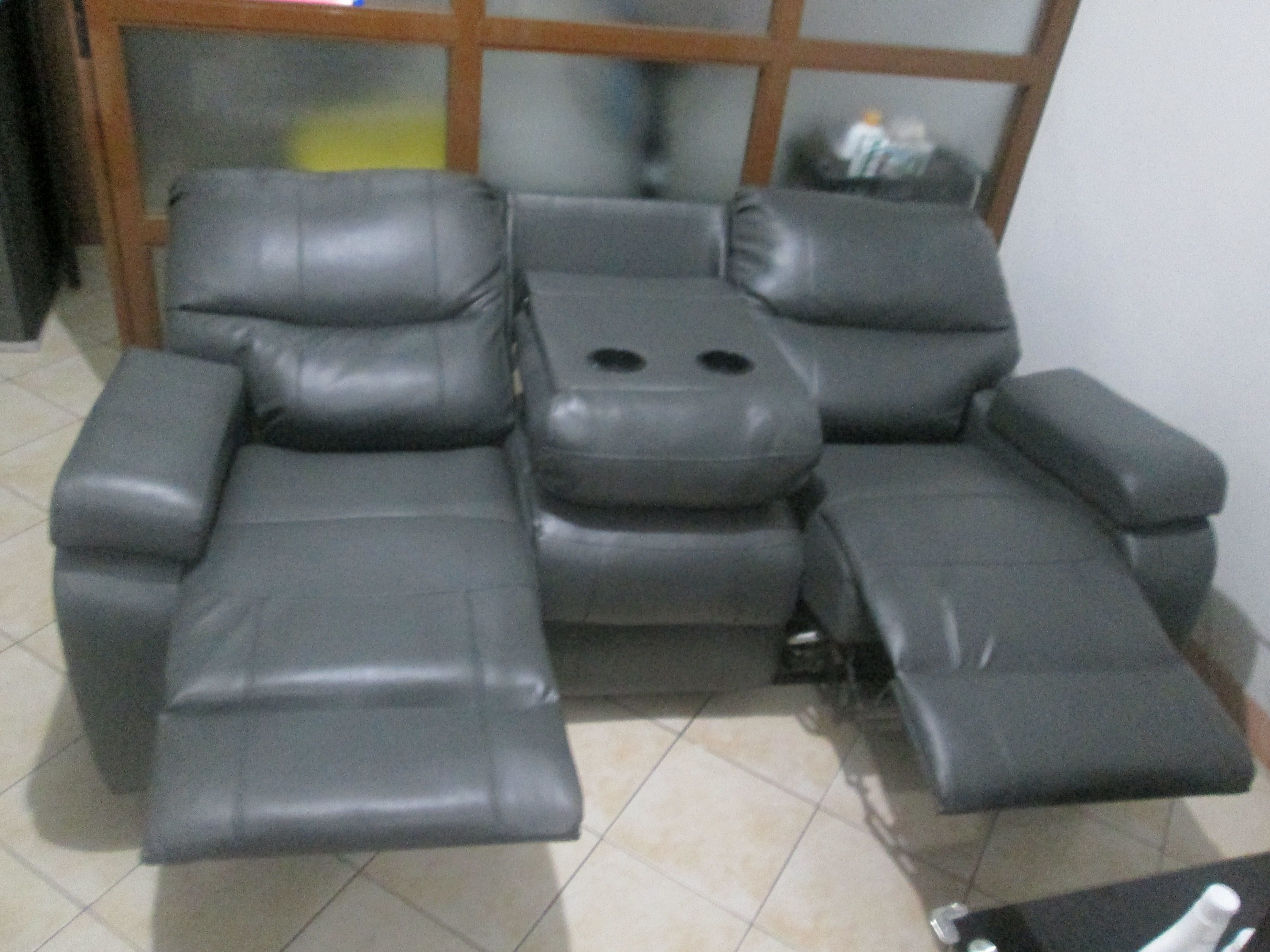 Re-upholstery of Three (3) Seater Recliner Sofa Montecarlo ...