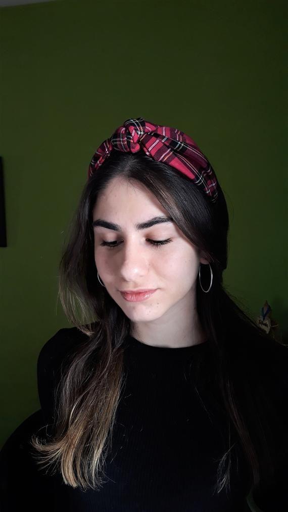 Top Knot Turban Headband 40's Vintage Style Hairband Hair