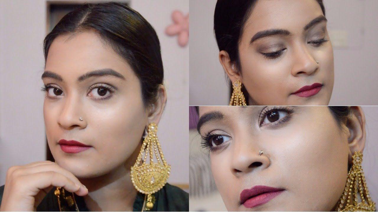 Easy Indian Festive Makeup Tutorial    Aarushi Jain