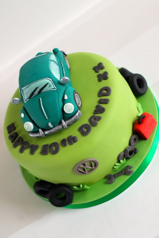Vw Beetle Cake Cake Ideas In 2019 Cake Cupcake Cakes