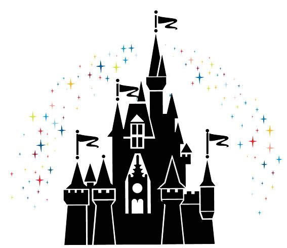 castle clipart cinderella s castle cute borders vectors animated