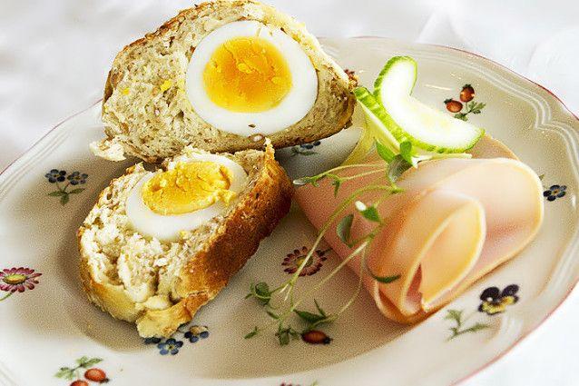 Eggerundstykker – Garantert en snakkis rundt frokostbordet i påsken