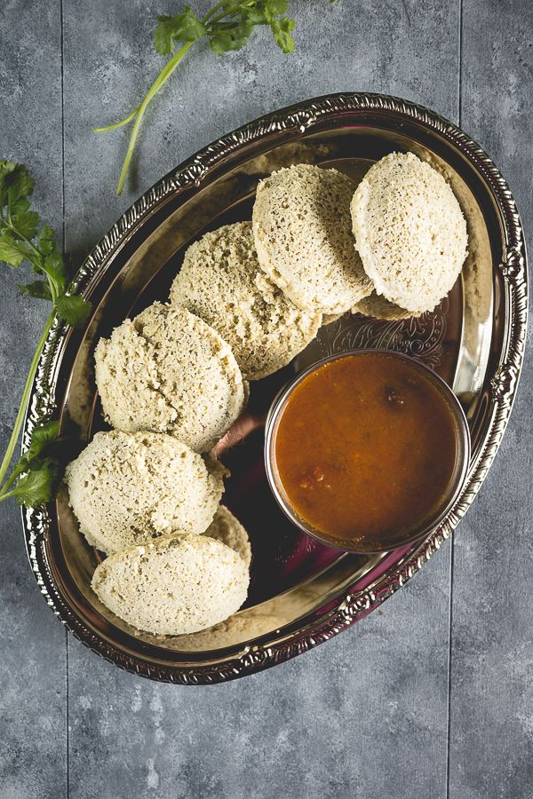 Okra Idli Food, Food recipes, South indian food