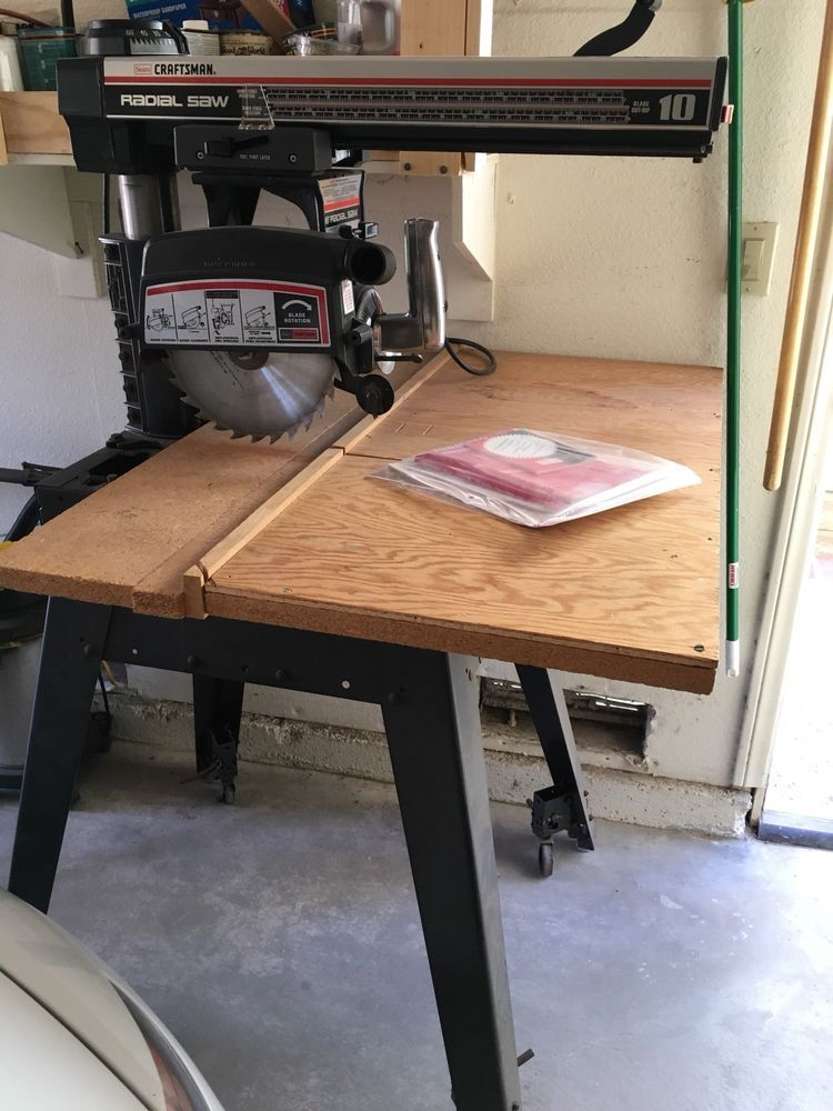 Radial Arm Saw 10 Craftsman Access Kit Metal Table Casters No Reserve Ebay Metal Table Table Casters Radial Arm Saw