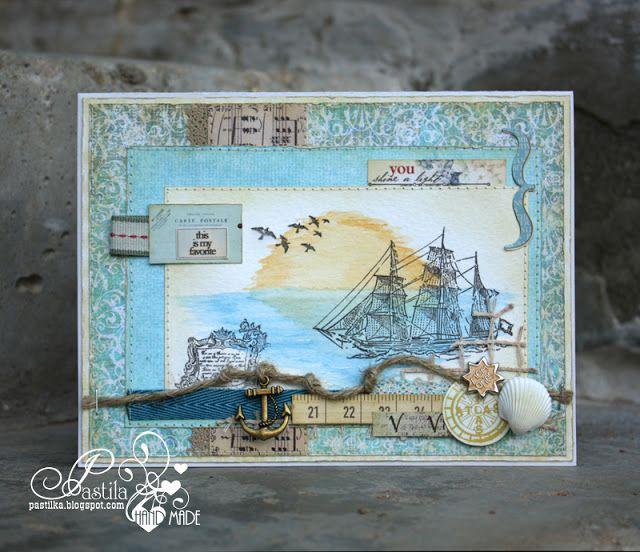 Рождения, скрапбукинг открытки тема путешествие