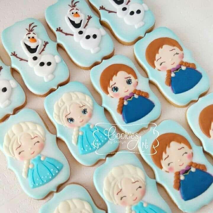 Frozen Cookies Cookies In 2019 Cookies Frozen Cupcakes