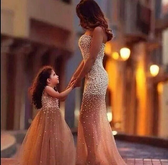 Mother Baby Match Love This Pinterest Glamour Clothing And Girls