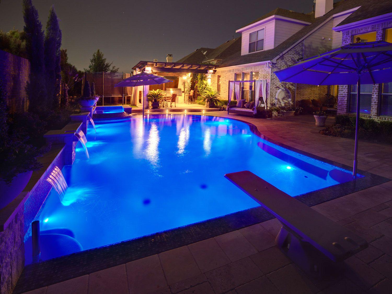 formal-pool-and-raised-spa-led-lights-Mega-Arbel-paver-decking ...