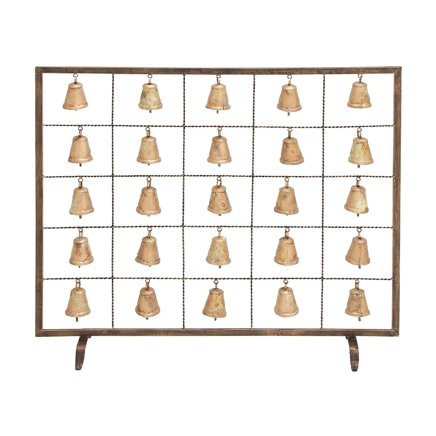 Shop woodland imports bell fireplace screen at loweus canada
