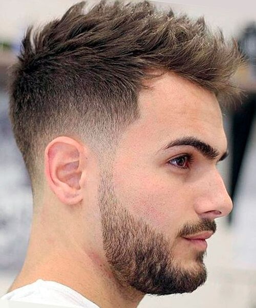 15 best short haircuts for men popular haircuts haircuts and blended fade haircut for men urmus Gallery